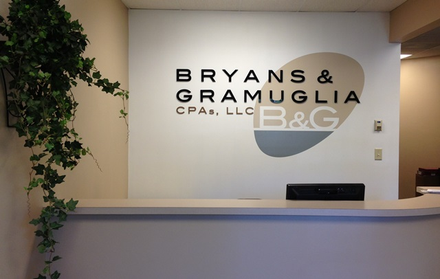 Custom Designed Reception and Lobby Signage