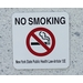 NO SMOKING New York State Public Health Law-Article 13E Sign Panel