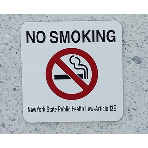 NO SMOKING New York State Public Health Law-Article 13E ...